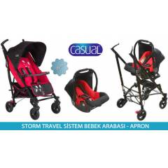 Casual Storm Baston Travel Sistem Bebek Arabas�