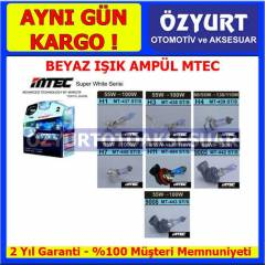 Beyaz I��k Ampul Far Amp�l� MTEC Super White