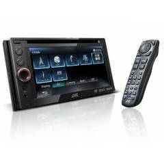 JVC - KW-AV51 - DVD/CD/USB/SD DOUBLE TEYP