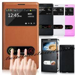 SAMSUNG GALAXY NOTE 2 KILIF FLIP COVER PENCEREL�