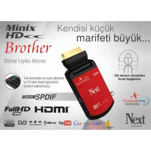 Next Minix HD Brother Full HD IPTV Uydu Al�c�s�