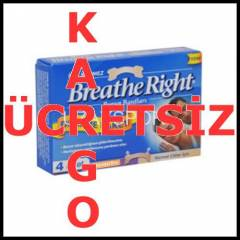 Breathe Right Burun Band� Deneme Paketi Norm 4JX