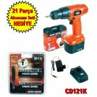 Black&Decker CD121K �arjl� Matkap