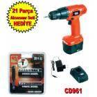 Black&Decker CD961 �arjl� Matkap