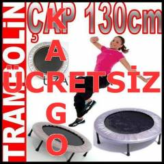 Tambolin Pilates Trampolin Fitness Gym 130cm AWJ