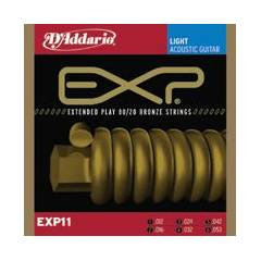D'addario EXP11 - Light Tak�m Tel