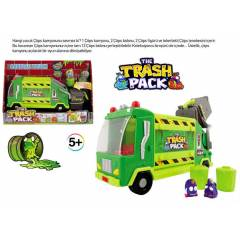 TRASH PACK GARBAGE TRUCK - ��PS �ETES� KAMYONU