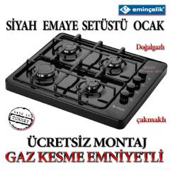 EM�N�EL�K EMAYE S�YAH DO�ALGAZ set �st� ocak