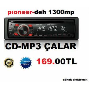 Pioneer DEH-1300MP OTO TEYP MP3-CD-  aux