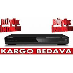 SONY DVP-SR170 DVD/CD PLAYER+KAMPANYA+�OK F�YATA