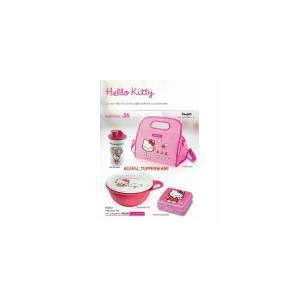 TUPPERWARE HELLO KiTTY SET 4lu set