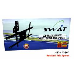 "Swat 127Ekran 50"" LED TV Hareketli Ask� Aparat�"