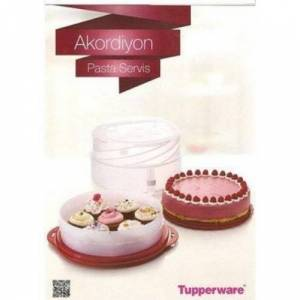 TUPPERWARE AKARD�ON PASTA SERV�S KES�C� HED�YEL�