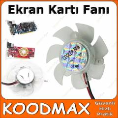 VGA Ekran Kart� Fan� - Sessiz So�utma