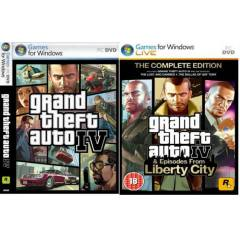 PC Grand Theft Auto 4 (GTA 4) COMPLETE Steam Key