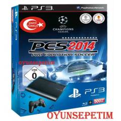 Sony Playstation 3 500 gb + PES 2014 OYUN + HDMI