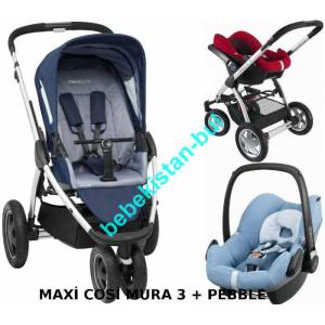 Maxi Cosi Mura 3 Plus Travel Sistem Bebek Arabas