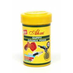 Ahm Guppy Granul Food 100 ml Lepistes Yemi