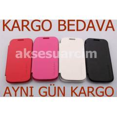 Samsung Galaxy Ace 2 K�l�f Flip Cover