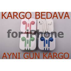 For iPhone 5/S 6 Kulakl�k Renkli Kulakl