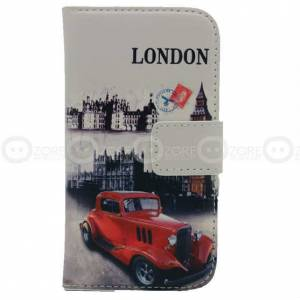 Galaxy Trend Plus S7580 London Car Kapakl� K�l�f