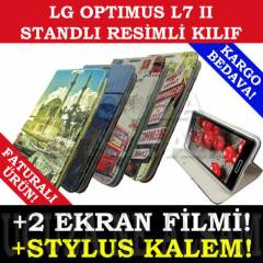 LG OPTIMUS L7 II KILIF P710 RES�ML� C�ZDAN +HDY