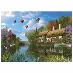 KS 1000 Par�a Puzzle Old River Cottage
