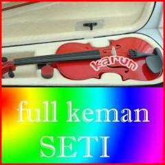 PETERSON 4/4 KIRMIZI KEMAN FULL SET