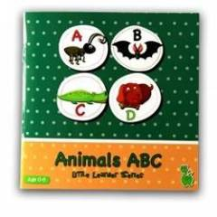 Ye�il Dinozor Little Learner Series -Animals Abc