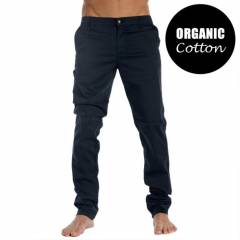Slim Fit Kanvas Chino Keten Cotton Pantolon