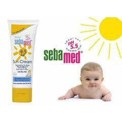 Sebamed gunes baby sun 45 cream 75 ml