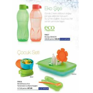 TUPPERWARE BEBEK SET� VE eko �i�e 500 ml