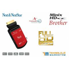 NEXT Minix HD BROTHER UYDU ALICISI  IPTV DESTE��
