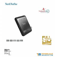 NEXT Minix HD BLACK +PLUS UYDU ALICISI YEN� �R�N