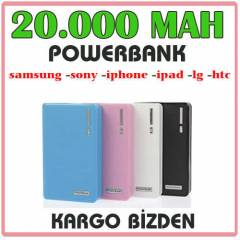 POWERBANK 20000 mAh Iphone Samsung Batarya �arj�