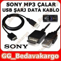 SONY NWZ MP3 �ALAR PLAYER USB KABLOSU DATA+�ARJ