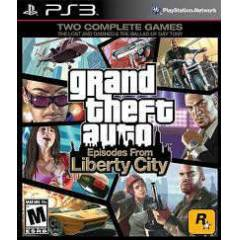 GTA IV: Episodes from Liberty City  PS3 Oyunu