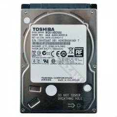 "TOSHIBA 500GB 2.5"" 5400RPM NOTEBOOK HARDDISK"