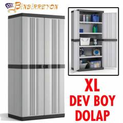 KIS PLUS XL DEV BOY �OK AMA�LI PLAST�K DOLAP