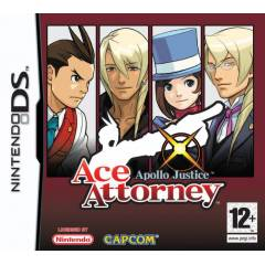 ACE ATTORNEY APOLLO JUSTICE DS SIFIR AMBALAJINDA