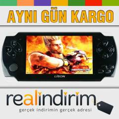 L�SON 3000 OYUN PSP MODEL MP4-MP5 OYUN KONSOLU