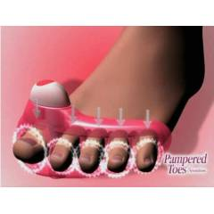 Ayak Masaj Aleti 4'l� Pampered Toes Sensation