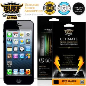 IPHONE 5 - 5S BUFF ULTIMATE EKRAN KORUMA FILMI