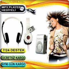 POWERWAY SET MP3 �ALAR, KATLANAB�L�R KULAKLIK