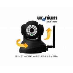 Uranium Sip-10a Ip Network Wireless Kamera Siyah