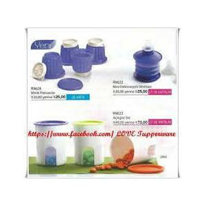TUPPERWARE Mini mor 4 lu prenses kal�plar