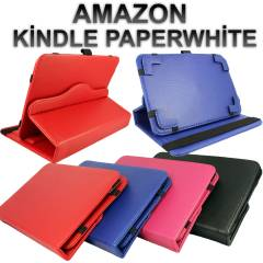 Amazon Kindle Paperwhite Lux Standl� Deri K�l�f