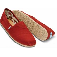 Toms Red Canvas