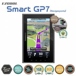 Ezcool Smart GP7 Telechips 8925 1GB 8GB 7 GPS