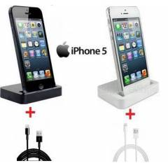 iPHONE 5 5S 5C DOCK STAND  USB DATA �ARJ KABLOSU